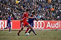Sohib Savankulov (TJK), Ryoichi Maeda (JPN), NOVEMBER 11, 2011 - Football / Soccer : 2014 FIFA World Cup Asian Qualifiers Third round Group C match between Tajikistan 0-4 Japan at Central Stadium in Dushanbe, Tajikistan. (Photo by Jinten Sawada/AFLO)