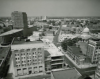 1961 June 23..Redevelopment.Downtown North (R-8)..Downtown Progress..North View from VNB Building..HAYCOX PHOTORAMIC INC..NEG# C-61-5-74.NRHA#..