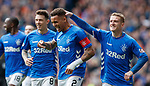28.04.2019 Rangers v Aberdeen: James Tavernier celebrates