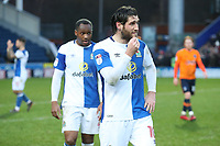 Blackburn Rovers' Danny Graham at the end of todays match<br /> <br /> Photographer Rachel Holborn/CameraSport<br /> <br /> The EFL Sky Bet League One - Blackburn Rovers v Oldham Athletic - Saturday 10th February 2018 - Ewood Park - Blackburn<br /> <br /> World Copyright &copy; 2018 CameraSport. All rights reserved. 43 Linden Ave. Countesthorpe. Leicester. England. LE8 5PG - Tel: +44 (0) 116 277 4147 - admin@camerasport.com - www.camerasport.com