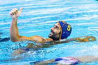 5 MINGUELL A. Marc ESP <br /> SRB -ESP Serbia (white caps) vs. Spain (blue caps) <br /> Barcelona 28/07/2018 Piscines Bernat Picornell <br /> Men Final 1st 2nd place <br /> 33rd LEN European Water Polo Championships - Barcelona 2018 <br /> Photo Andrea Staccioli/Deepbluemedia/Insidefoto