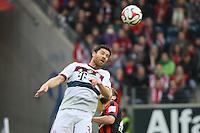Xabi Alonso (Bayern) - Eintracht Frankfurt vs. FC Bayern München, Commerzbank Arena