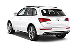 Car pictures of rear three quarter view of 2015 Audi SQ5 quattro tiptronic Premium 5 Door SUV angular rear