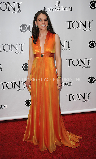 WWW.ACEPIXS.COM . . . . .  ....June 7 2009, New York City....Actress Sutton Foster at the 63rd Annual Tony Awards at Radio City Music Hall on June 7, 2009 in New York City.....Please byline: KRISTIN CALLAHAN -  ACE PICTURES.... *** ***..Ace Pictures, Inc:  ..tel: (212) 243 8787 or (646) 769 0430..e-mail: info@acepixs.com..web: http://www.acepixs.com