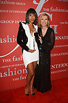 Actress Kerry Washington receives the Lord & Taylor Fashion Oracle award, and poses with Liz Rodbell, President of Lord and Taylor, at The Fashion Group International's Night of Stars 2017 gala at Cipriani Wall Street on October 26, 2017.