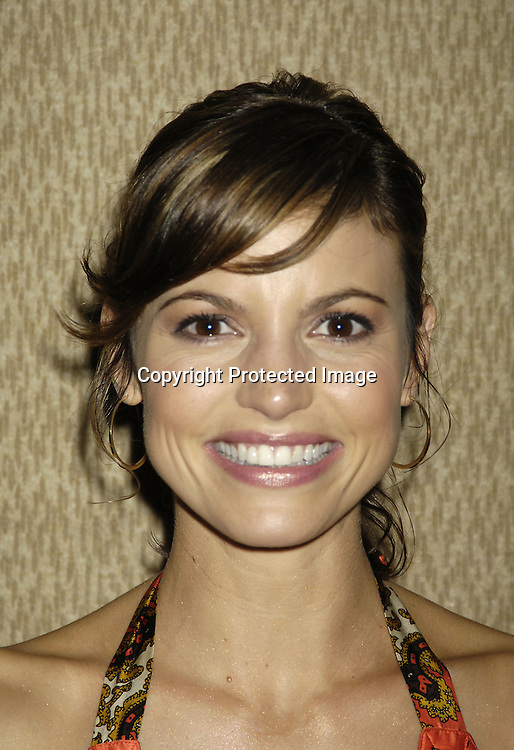 Michelle Ray Smith of Guiding Light ..at the 11th Annual Daytime Television Salutes St. Jude Children's Research Hospital benefit hosted by Martha Byrne on October 14, 2005 at The New York Marriott Marquis Hotel. ..Photo by Robin Platzer, Twin Images