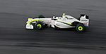 03 Apr 2009, Kuala Lumpur, Malaysia ---  Brawn GP Formula One Team driver Rubens Barrichello of Brazil on the second practice session during the 2009 Fia Formula One Malasyan Grand Prix at the Sepang circuit near Kuala Lumpur. Photo by Victor Fraile --- Image by © Victor Fraile/Corbis