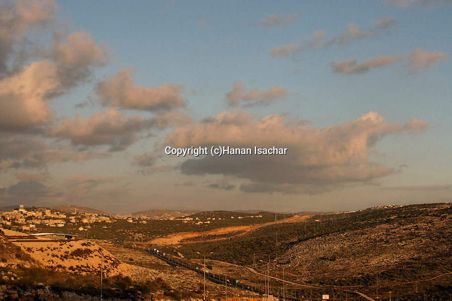 Samaria, Route 5, the Trans Samaria Highway