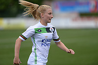 20180815 - Zulte , BELGIUM : OHL's Laura Vervacke pictured during a friendly pre season soccer match between the women teams of Zulte Waregem Dames and OHL Oud Heverlee Leuven Dames  , Wednesday 15 August 2018 . PHOTO DAVID CATRY   SPORTPIX.BE