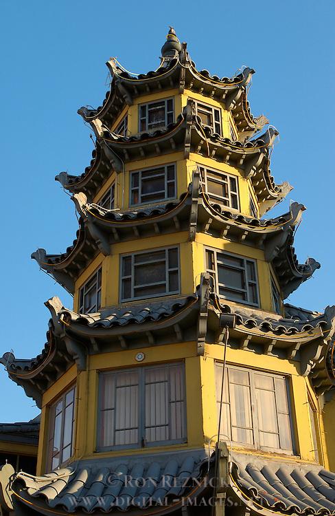 Hop Louie Golden Pagoda 1941, Chinatown, Los Angeles, California