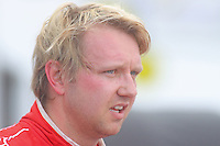 Pole winner Ryan Dalziel at the Rolex 24 at Daytona, Daytona International Speedway, Daytona Beach, FL, January 2011.  (Photo by Brian Cleary/www.bcpix.com)