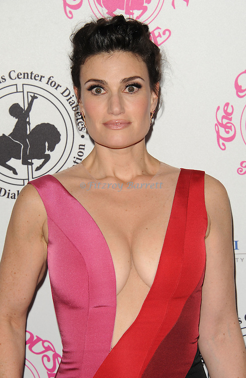 Idina Menzel arriving at The 2016 Carousel Of Hope Ball held at the Beverly Hilton Hotel Beverly Hills California October 8, 2016.