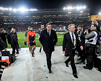 All Blacks head coach Steve Hansen walks in before the 2017 DHL Lions Series rugby union 3rd test match between the NZ All Blacks and British & Irish Lions at Eden Park in Auckland, New Zealand on Saturday, 8 July 2017. Photo: Dave Lintott / lintottphoto.co.nz