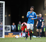 Gideon Zelalem gestures to the Celtic support after scoring from the spot