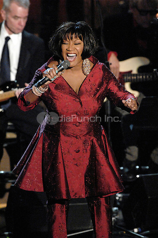 Patti Labelle at the 23rd Annual Rock and Roll Hall of Fame Induction Ceremony at the Waldorf-Astoria in New York City on March 10, 2008. © David Atlas / MediaPunch