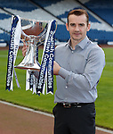Danny Lennon after the League Cup draw