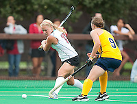 STANFORD, CA - September 19, 2010:  Emily Henriksson during the Stanford Field Hockey game against Cal in Stanford, California. Stanford lost 2-1.