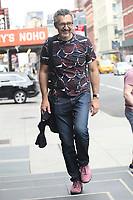 NEW YORK, NY - JULY 13: John Turturro seen arriving at The Public Theater on July 13, 2017 in New York City. Credit: DC/Media Punch