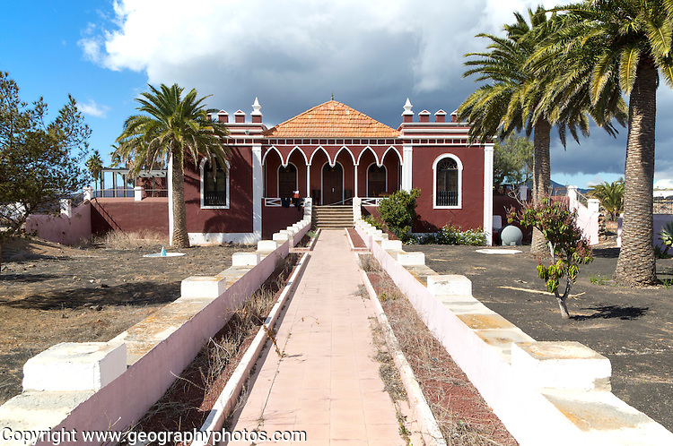 Historic house Hotel Finca de la Salinas, Yaiza, Lanzarote, Canary Islands, Spain
