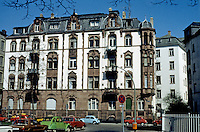 Frankfurt: Apartment house, circa 1900. West end. Photo '87.