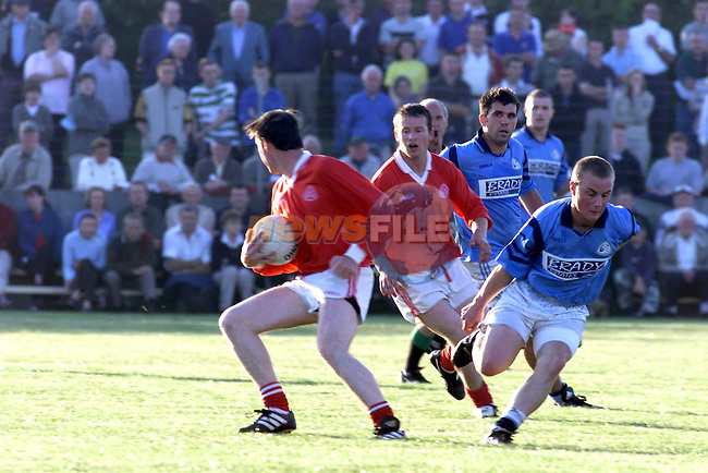 Newtown Blues V St Brides in Ardee.Picture Fran Caffrey Newsfile
