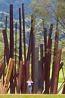 Brumadinho_MG, Brasil.<br /> <br /> Centro de Arte Contemporanea Inhotim (CACI). Na foto a obra Bean Drop, de Cris Burden.<br /> <br /> The Inhotim Contemporary Art Center (CACI). In this photo the art Bean Drop of Cris Burden.<br /> <br /> Foto: RODRIGO LIMA / NITRO