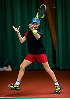 Wateringen, The Netherlands, November 27 2019, De Rhijenhof , NOJK 12 and16 years, Mees Rötgering (NED)<br /> Photo: www.tennisimages.com/Henk Koster