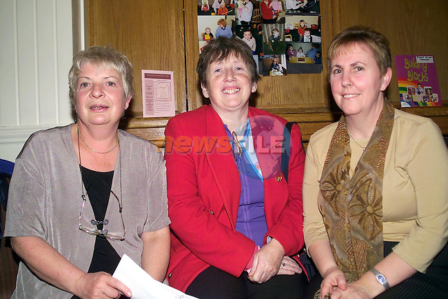 Noeleen Bell, Hilda Finnegan and margaret Burke at the lifestyle group renunion in the West Court Hotel..Picture  Newsfile.
