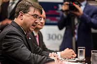 U.S. Secretary of Veteran's Affairs Robert Wilkie speaks during an opioid round table at the White House in Washington, DC, USA, 12 June  2019.<br /> Credit: Zach Gibson / Pool via CNP/AdMedia
