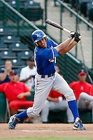 Alex Llanos - AZL Royals (2009 Arizona League).Photo by:  Bill Mitchell/Four Seam Images..