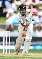 30th November 2019, Hamilton, New Zealand;  Daryl Mitchell on day 2 of 2nd test match between New Zealand and England,  International Cricket at Seddon Park, Hamilton, New Zealand.  - Editorial Use