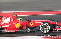 The inaugural United States Grand Prix at Circuit of the Americas in Austin, Texas - Felipe Massa in the Ferrari F2012