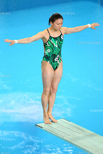 Sayaka Shibusawa,<br /> SEPTEMBER 18, 2015 - Diving : <br /> All Japan Diving Championship 2015<br /> Women's 3m Springboard Preliminary<br /> at Tatsumi International Swimming Center, Tokyo, Japan.<br /> (Photo by Shingo Ito/AFLO SPORT)