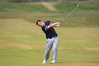 Stuart Bleakley (Shandon Park) on the 2nd during Round 4 of the East of Ireland Amateur Open Championship sponsored by City North Hotel at Co. Louth Golf club in Baltray on Monday 6th June 2016.<br /> Photo by: Golffile   Thos Caffrey