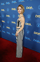LOS ANGELES, CA - FEBRUARY 2: Emily Bett Rickards at the 71st Annual DGA Awards at the Hollywood &amp; Highland Center's Ray Dolby Ballroom  in Los Angeles, California on February 2, 2019. <br /> CAP/MPIFS<br /> &copy;MPIFS/Capital Pictures