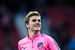 Antoine Griezmann of Atletico de Madrid prior to the UEFA Europa League 2017-18 Round of 32 (2nd leg) match between Atletico de Madrid and FC Copenhague at Wanda Metropolitano  on February 22 2018 in Madrid, Spain. Photo by Diego Souto / Power Sport Images
