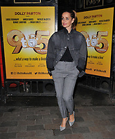 "APR 04 Louise Redknapp at the ""9 To 5 The Musical"" theatre stage door cast departures"