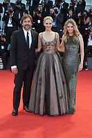 VENICE, ITALY - SEPTEMBER 5: Javier Bardem, Jennifer Lawrence and Michelle Pfeiffer attend the premiere for Mother during the 74th Venice Film Festival on September 5, 2017 in Venice, Italy.<br /> CAP/BEL<br /> &copy;BEL/Capital Pictures