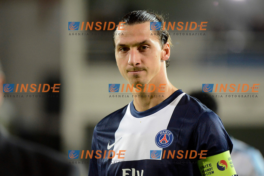 Ibrahimovic (PSG) <br /> Football Calcio 2013/2014<br /> Ligue 1 Francia <br /> Olympique Marsiglia - Paris Saint Germain PSG <br /> Foto Panoramic / Insidefoto <br /> ITALY ONLY