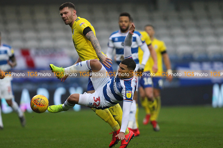 Nahki Wells of QPR during Queens Park Rangers vs Birmingham City, Sky Bet EFL Championship Football at Loftus Road Stadium on 9th February 2019