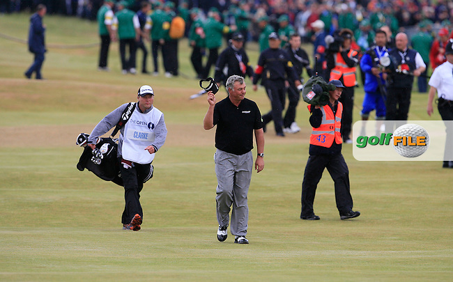 Darren Clarke (NIR) during the final round of the 140th Open Championship played at Royal St George's Golf Club on 17th July 2011 in Sandwich, Kent, England (Picture Credit / Phil INGLIS/ www.golffile.ie