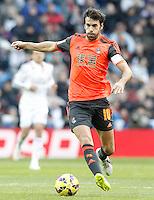 Real Sociedad's Xabi Prieto during La Liga match.January 31,2015. (ALTERPHOTOS/Acero) /NortePhoto<br /> /NortePhoto.com