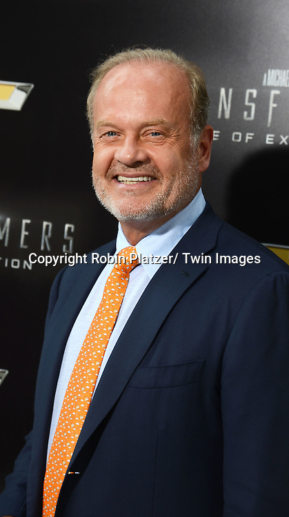 "Kelsey Grammer attend the US Premiere of ""Transformers: Age of Extinction"" on June 25, 2014 at The Ziegfeld Theatre in New York City, New York, USA."