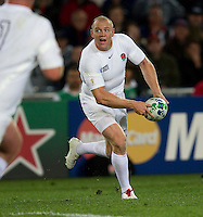 Rugby World Cup Auckland England v Scotland  Pool B 01/10/2011. Mike Tindall (England)  .Photo  Frey Fotosports International/AMN Images