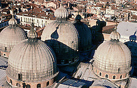 The roof of Basilica San Marco, Venice.