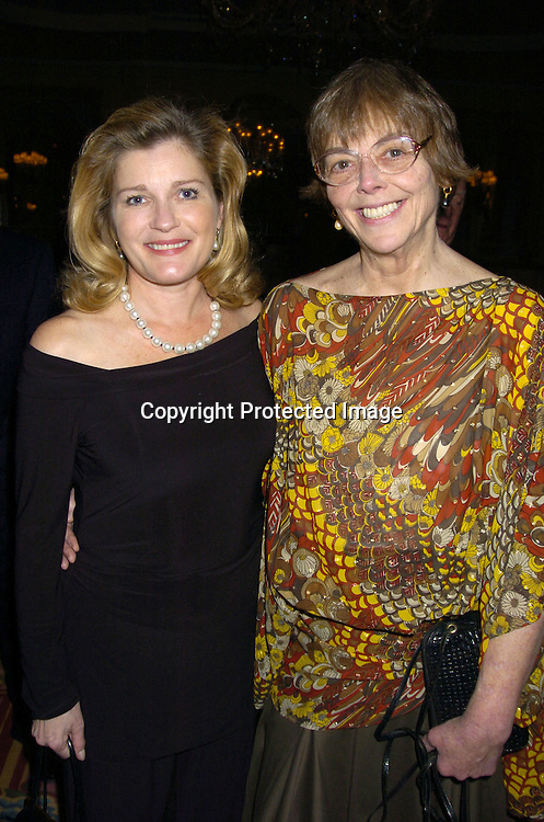 Kate Mulgrew and Claire Labine ..at The 57th Annual  Writers Guild Awards on February 19, 2005 at The Pierre Hotel in New York City. Claire Labine got ..an award and  Guiding Light won for Best Soap Opera. ..Photo by Robin Platzer, Twin Images.