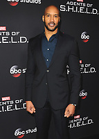 "HOLLYWOOD - FEBRUARY 24:  Henry Simmons at 100th Episode Celebration of ABC's ""Marvel's Agents of S.H.I.E.L.D.""  at OHM Nightclub on February 24, 2018 in Hollywood, California.(Photo by Scott Kirkland/PictureGroup)"