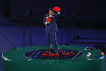 Shinzo Abe,  <br /> AUGUST 21, 2016 : <br /> Closing Ceremony <br /> at Maracana <br /> during the Rio 2016 Olympic Games in Rio de Janeiro, Brazil. <br /> (Photo by Yusuke Nakanishi/AFLO SPORT)