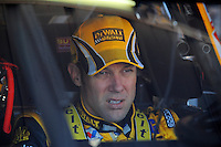 Apr 17, 2009; Avondale, AZ, USA; NASCAR Sprint Cup Series driver Matt Kenseth during practice for the Subway Fresh Fit 500 at Phoenix International Raceway. Mandatory Credit: Mark J. Rebilas-