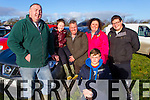 Pictured at Lixnaw Coursing Club 86th Annual Meeting at Granshagh, Ballinclogher on Sunday were L-R: Seamus, Dominic and Padriag Regan, Liz Kelly Regan, Sean and Ian Regan, Kilmoyley.